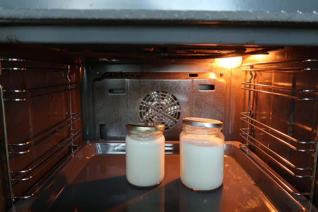 Easy Homemade Yogurt Recipe - Oven Method