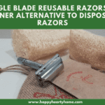 Single Blade Reusable Razors - A Greener Alternative To Disposable Razors