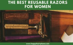 a gold rose reusable razor for women.
