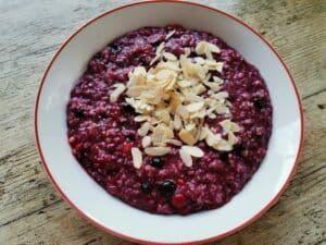Easy Frozen Berries Oatmeal Recipe