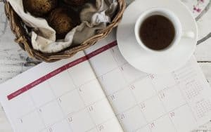 Decide on the dates and duration - the first tip on how to plan a staycation with toddlers.