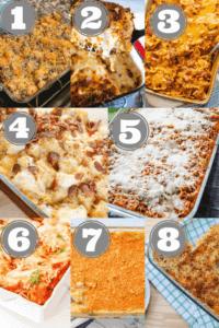 8 kid-friendly make-ahead casserole meals